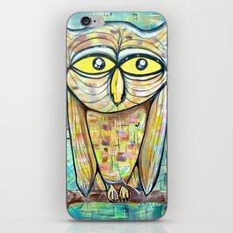 Cosmic Owl iPhone Skin