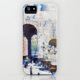 Cairo Street, Or Mosque, Sultan Hassan - Digital Remastered Edition iPhone Case