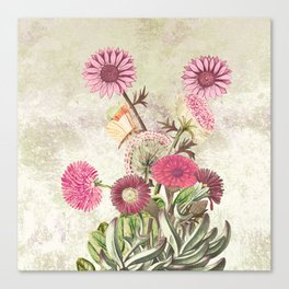 Life is a marvellous garden Canvas Print