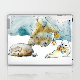 Polar Tea Party Laptop & iPad Skin