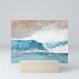 Sea Spray Wave  Mini Art Print