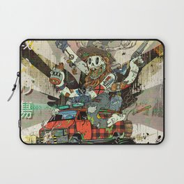 Battlescar Biggles Laptop Sleeve