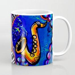 Carnival Jazz Painting Coffee Mug