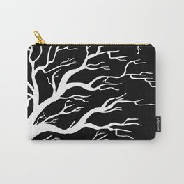 Tree on B&W Carry-All Pouch