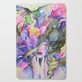 Garden Nymph Cutting Board