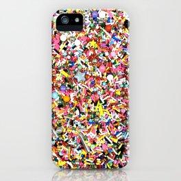 fancy sprinkles iPhone Case