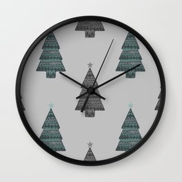 ornamental! green Wall Clock