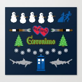 Ugly Christmas Special Canvas Print