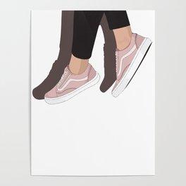Dangling Vans Poster