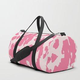 Modern Abstract Ikat pink #homedecor Duffle Bag