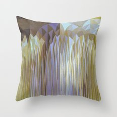 Icy Blast Throw Pillow