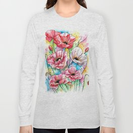 Iceland Poppies Long Sleeve T-shirt