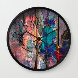 Two fighters Wall Clock