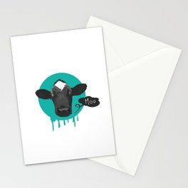 Moo Cow Moan Stationery Cards