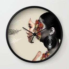 On the Inside Wall Clock