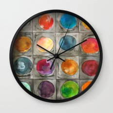 Mystery planets 1 Wall Clock