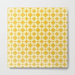 Yellow Plummer Metal Print