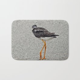 Greater Yellowlegs  Walks Away Bath Mat