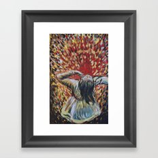 Wild love Framed Art Print