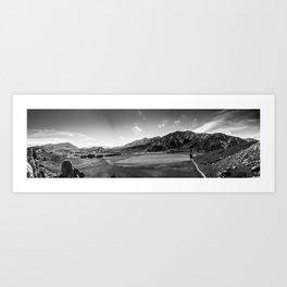 Arthurs Pass from Castle Rock Art Print