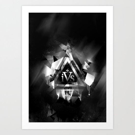 iPhone 4S Print - Reverse Art Print