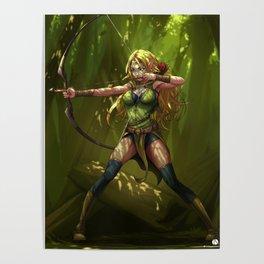 Wood Elf Archer Poster