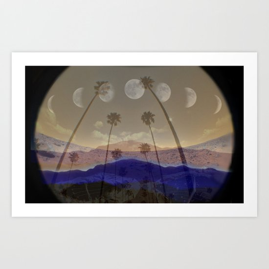 everywhere with you Art Print