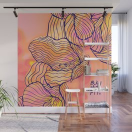Cascading Freesia (PiNK) Wall Mural
