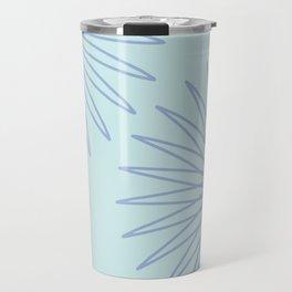 Sea Foam and Periwinkle Travel Mug