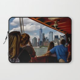 NYC from The Ferry Laptop Sleeve