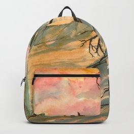 Southwestern Art Desert Painting Backpack