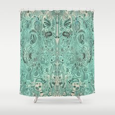 Histological section of my inner world (#4) Shower Curtain