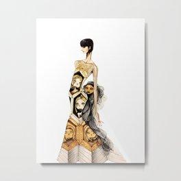 Courtney Gripling Metal Print