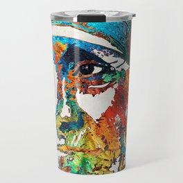 Mother Teresa Tribute by Sharon Cummings Travel Mug
