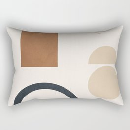 Geometric Modern Art 32 Rectangular Pillow