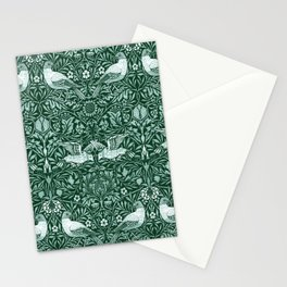 "William Morris ""Birds"" 6. Stationery Cards"
