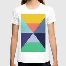 Colorful pattern XVII T-shirt
