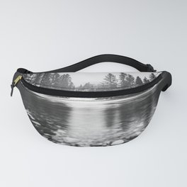 Pacific Northwest River III - Nature Photography Fanny Pack
