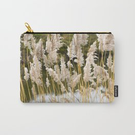 Canal side grass Carry-All Pouch