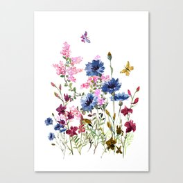 Wildflowers IV Canvas Print