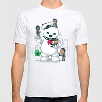 Puft Buddies Ash Grey Mens Fitted Tee SMALL