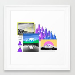 Mountain Study Framed Art Print