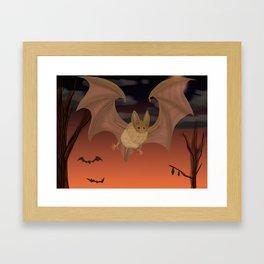 Autumn Flight Framed Art Print