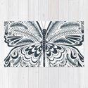 Blue Butterfly Mandala by awakenvt