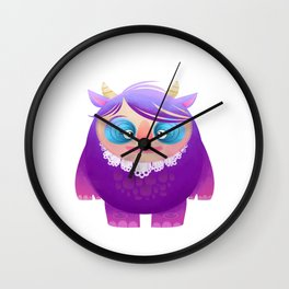mommy Monster   Wall Clock