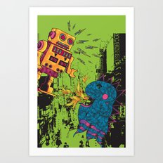Battle of Hiroshima Art Print