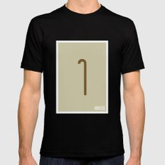 House M.D. - Minimalist MEDIUM Black Mens Fitted Tee