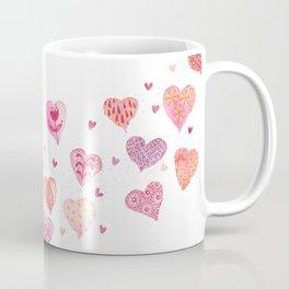 Caged Love Watercolor Coffee Mug