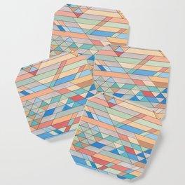 Triangle Pattern no.2 Colorful Coaster