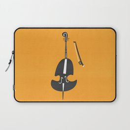 Double Bass Jazz Laptop Sleeve
